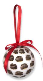 Kerstbal Bossche Bol 7cm (2 stuks)