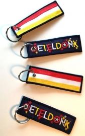 Sleutelhanger Oeteldonk (ca 10x3cm)