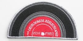 Kiel embleem Keelschraper (10x5,5cm)
