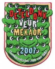 Oeteldonk Veur mekaor (Jaarembleem 2007)
