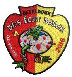 KLEIN Oeteldonk, dè's écht Bosch (Jaarembleem 2016)
