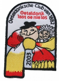 Oeteldonk Laot oe nie los (Jaarembleem 2003)