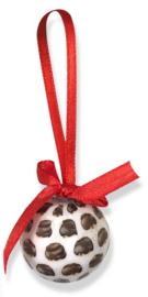 Kerstbal Bossche Bol 4cm (4 stuks)
