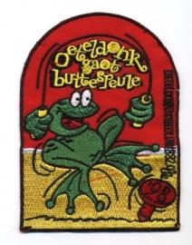 Oeteldonk gaot buitespeule (Jaarembleem 1998)