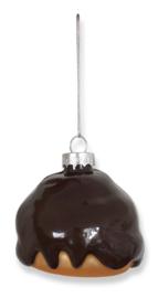 Kerstbal Bossche Bol 7cm (1 stuks)