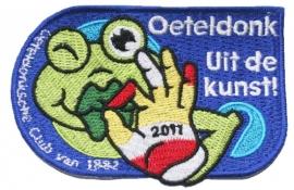 KLEIN Oeteldonk Uit de kunst (Jaarembleem 2011)