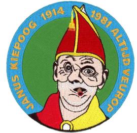 Janus Kiep  1914-1981 Altijd veurop (embleem ca 9 cm)