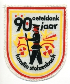 90 jaar familie Stolzenbach (Jaarembleem 1973)