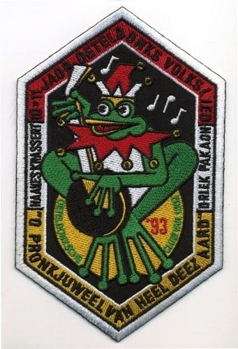 10 x 11 Jaor Oeteldonks volkslied (Jaarembleem 1993)