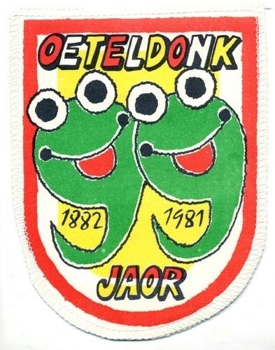 Oeteldonk 99 jaor 1882 - 1981 (Jaarembleem 1981)