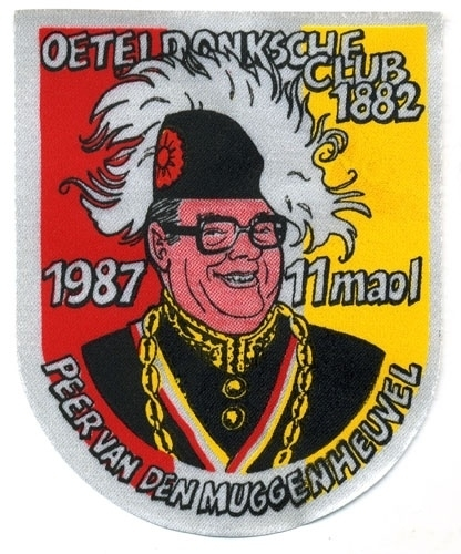 11 Maol Peer van den Muggenheuvel (Jaarembleem 1987)