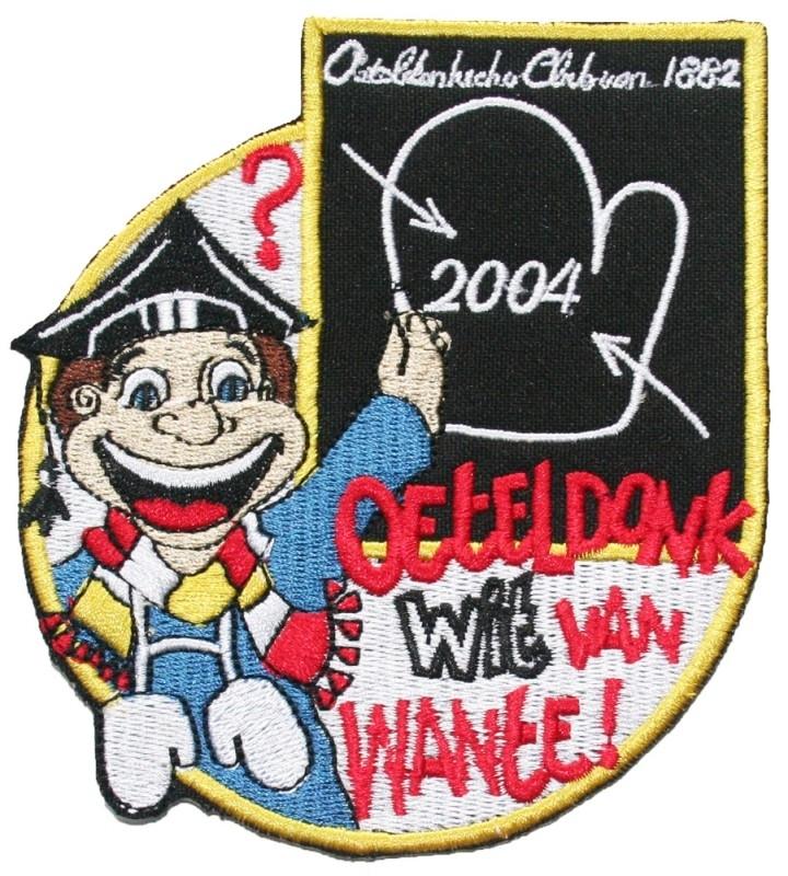 Oeteldonk Wit van Wante! (Jaarembleem 2004)