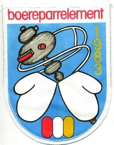 Boereparrelement (Jaarembleem 1983)