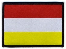 Oeteldonks vlaggetje (8,5x6cm)