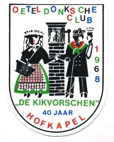 De Kikvorschen 40 jaar hofkapel (Jaarembleem 1968)