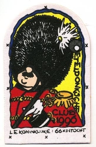 Le koninklijke 66 x intocht (Jaarembleem 1996)