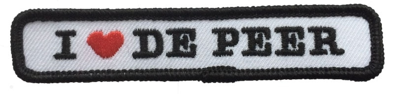Kiel embleem De Peer (10x2cm)