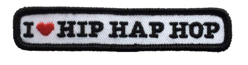 Kiel embleem Hip Hap Hop (10x2cm)