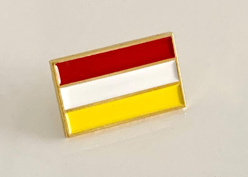 Pin Oeteldonkse vlag  (ca 1,8x1cm)