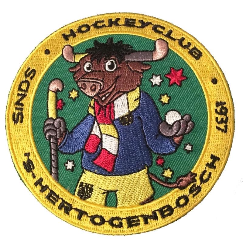 Oeteldonkse Bull embleem (ca 9cm)