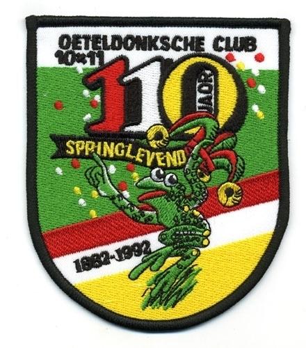 110 Jaor Springlevend 1882 - 1992 (Jaarembleem 1992)