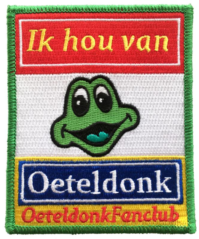 Ik hou van Oeteldonk - OeteldonkFanClub (embleem 8x10cm)