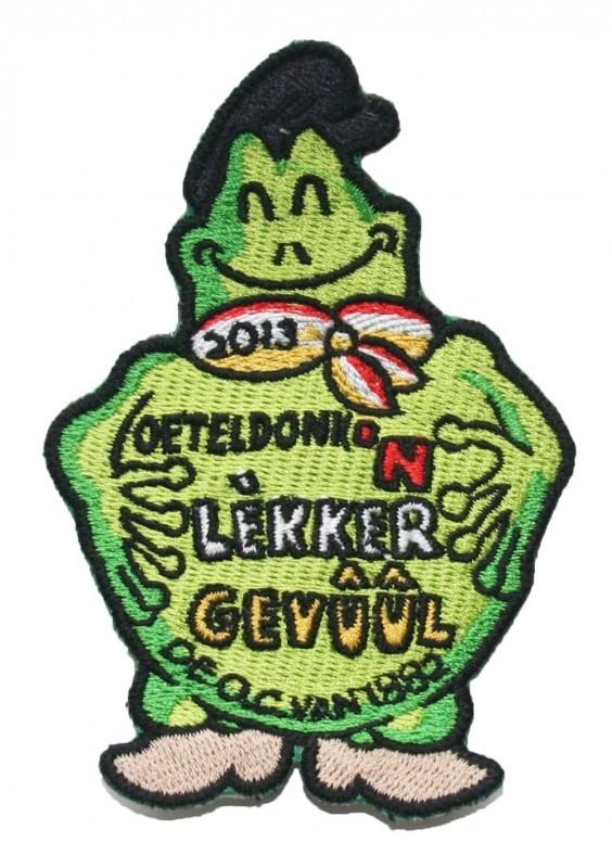 KLEIN Oeteldonk `n Lekker Gevuul (Jaarembleem 2013)