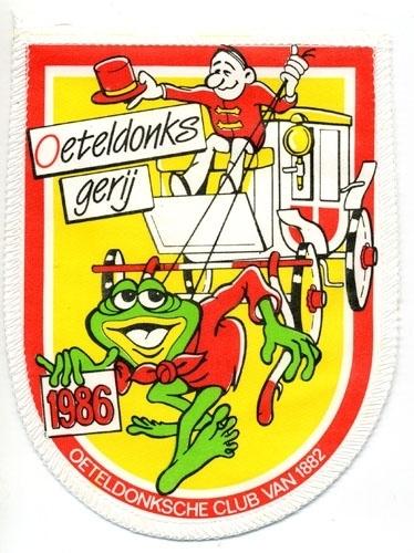 Oeteldonks gerij (Jaarembleem 1986)