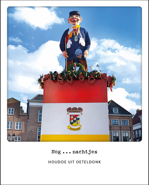 Bossche postcard - Knillis nog ... nachtjes tot Oeteldonk - #102