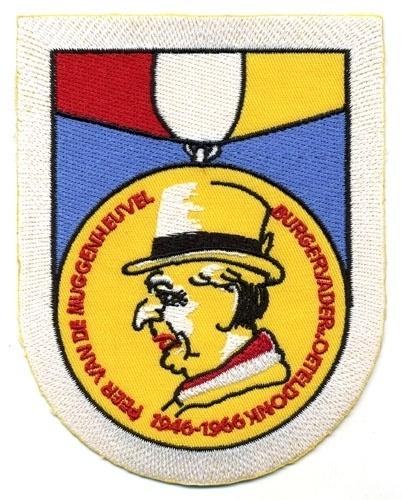 Peer van de Muggenheuvel 1946-1966 (Jaarembleem 1966)