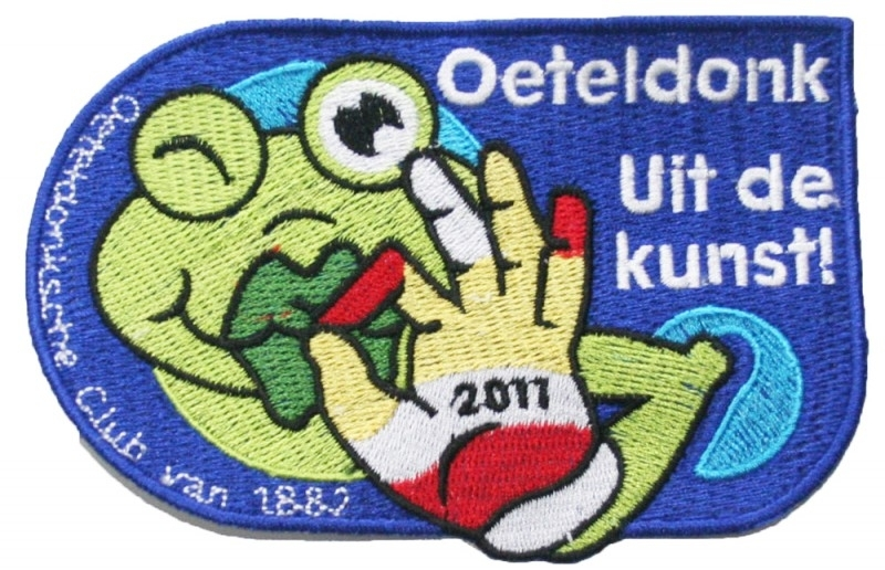 Oeteldonk Uit de kunst (Jaarembleem 2011)