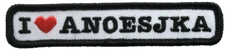 Kiel embleem Anoesjka (10x2cm)
