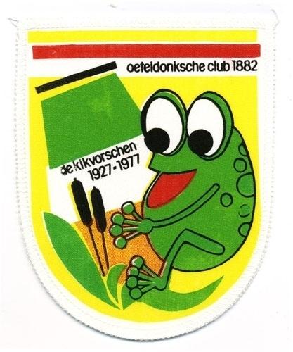 De Kikvorschen 1927 - 1977 (Jaarembleem 1978)
