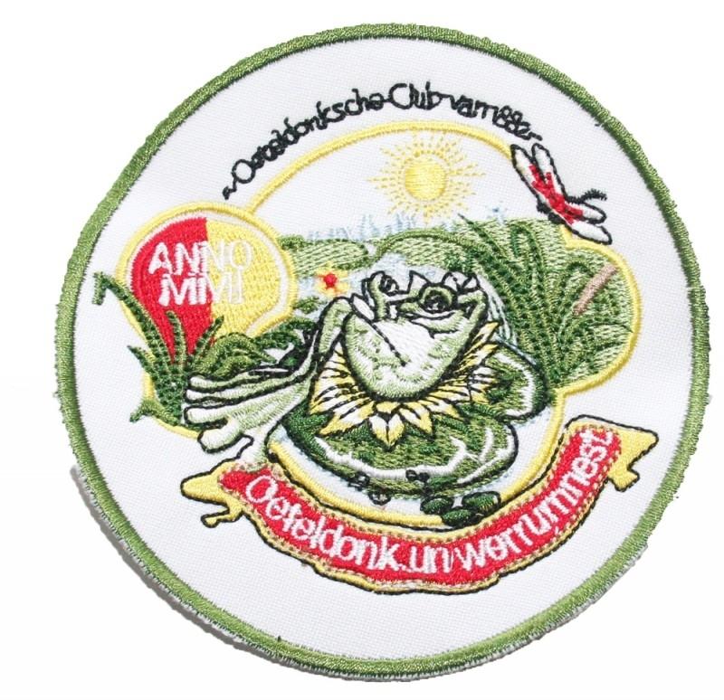 Oeteldonk Un werrum nest (Jaarembleem 2001)