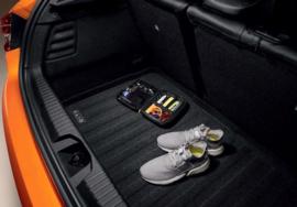 Omkeerbare kofferbakmat stof en rubber