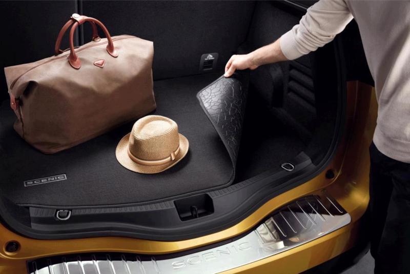 Omkeerbare kofferbak hoes