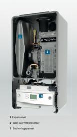 Plaatsing Bosch Condens GC 7000iW-24