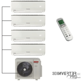 Ariston multi-split airco 3 x 2,5 kW + 5,0 kW