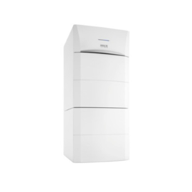 Plaatsing Remeha Calora Tower Gas 15 kw + boiler 100 l