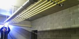 Plaatsing nieuwe gasleiding in PLT