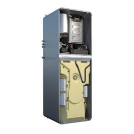 Plaatsing Junkers Condens GC9000iWM 30/210 SB met bivalente stratificatieboiler voor Solarbedrijf