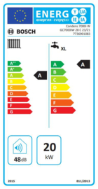Plaatsing Bosch Condens GC 7000iW-28 C