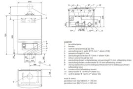 Plaatsing Vaillant EcoTec Pro VCW-246