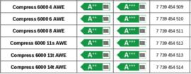 Bosch Warmtepomp Compress 6000 AWE 6