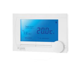 Plaatsing modulerende thermostaat