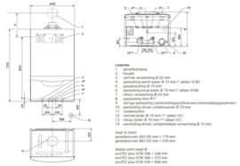 Plaatsing Vaillant EcoTec Plus VCW-296