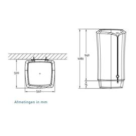 Plaatsing Daalderop Boostboiler LB90
