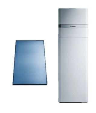 Vaillant pakket AuroCompact VSC-D-306 + 1 verticaal paneel