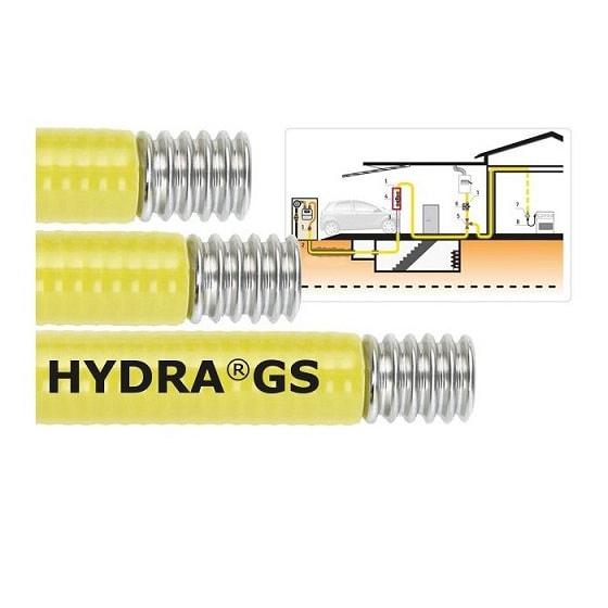 Plaatsing nieuwe gasleiding in RVS (PLT)