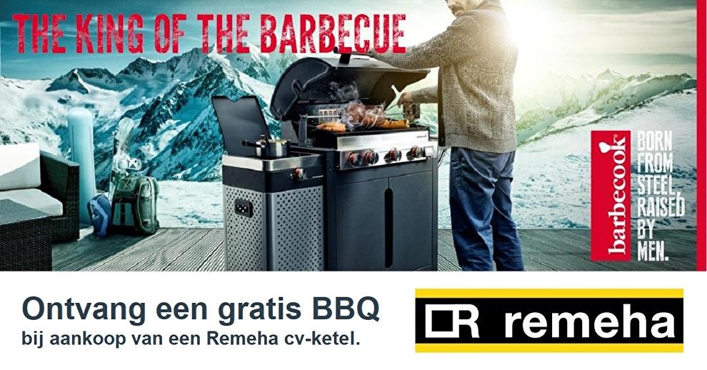 Gratis Barbecook BBQ bij een Remeha ketel
